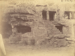 Minor unnamed caves, Khandgiri Hill or Udayagiri